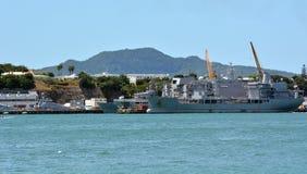 Devonport Auckland basso navale Nuova Zelanda Fotografia Stock Libera da Diritti
