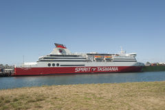 Devonport Australia: Ferry Spirit of Tasmania Royalty Free Stock Photography