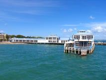 Devonport Hafen lizenzfreies stockbild