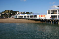 Devonport Harbor,New Zealand Stock Images