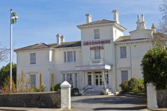 The Devonshire Hotel, Torquay, Devon, UK Royalty Free Stock Images