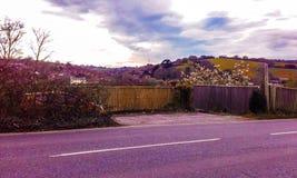 Devonshire wzgórze Obrazy Royalty Free