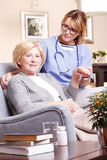 Devoted care and assistance Stock Photography
