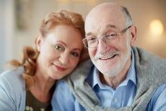 Devoted spouses Stock Photos