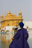 A Devotee of The Golden Temple of Amritsar, Punjab, India Royalty Free Stock Image