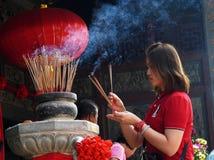 Devotee Praying Royalty Free Stock Image