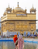 Devotees At Golden Temple Royalty Free Stock Photos