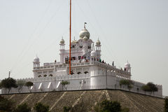 Devotees at a Historic Shrine in Punjab, India Royalty Free Stock Photos