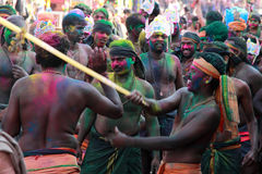 Devotees of Lord Ayyappa Stock Photography
