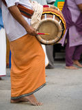 Devotees at Thaipusam Royalty Free Stock Photos