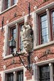 Devotion in medieval Bruges Royalty Free Stock Images