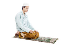 Devotion to pray Stock Photography