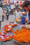 Devotional Aids on the Ganges Royalty Free Stock Photography
