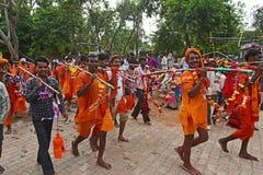 Devoto de Hindui Fotografía de archivo libre de regalías