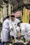 Devozione di Agatha del san (Sant'Agata) Immagine Stock