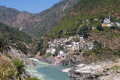 Devprayag, India Royalty Free Stock Photos