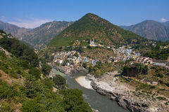 Devprayag, Uttarakhand, India. Stock Photos