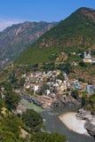 Devprayag. Uttarakhand, India. Stock Photos