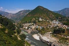 Devprayag. Uttarakhand, India. Royalty Free Stock Photography