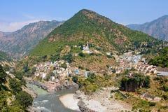 Devprayag, Uttrakhand, Inde. Photo stock