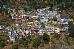 Devprayag Uttrakhand, Indien. Royaltyfri Fotografi