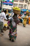 Devrajmarkt Mysore, India royalty-vrije stock afbeelding