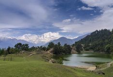 Devriya Taal or Deoria Tal lake, Garhwal, Uttarakhand, India stock photo