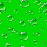 Dew drops seamless pattern. Royalty Free Stock Photos