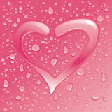 Dew heart Stock Images