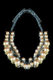 dew morning necklace pearl web απεικόνιση αποθεμάτων