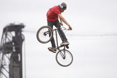 Dew Tour BMX dirt jumps Royalty Free Stock Photography