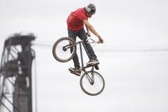 Dew Tour BMX dirt jumps Royalty Free Stock Photography