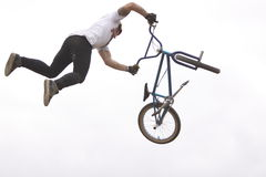 Dew Tour BMX dirt jumps Royalty Free Stock Images