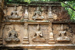 Dewa stone carving Stock Photography