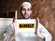 DeWalt company logo Stock Photo