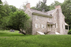 Dewees House. Dewees' House at Valley Forge National Historical Park, Valley Forge, Pennsylvania Stock Photography