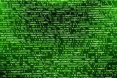 Deweloperu oprogramowania workspace ekran Obraz Stock