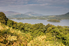 Dewent Water and Skiddaw Stock Photography