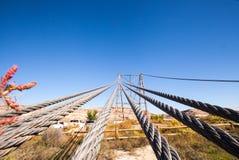 Dewey Bridge, camino del valle del castillo utah Fotos de archivo