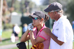 Dewi Claire Schreefel at the ANA inspiration golf tournament 2015 Stock Photos