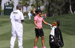 Dewi Claire Schreefel at the ANA inspiration golf tournament 2015 Royalty Free Stock Image