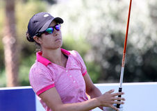 Dewi Claire Schreefel at the ANA inspiration golf tournament 2015 Royalty Free Stock Images