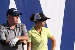 Dewi Claire Schreefel en el torneo 2015 del golf de la inspiración de la ANECDOTARIO imagen de archivo libre de regalías