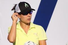 Dewi Claire Schreefel en el torneo 2015 del golf de la inspiración de la ANECDOTARIO Foto de archivo