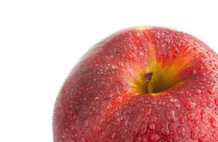 Dewy apple Royalty Free Stock Images