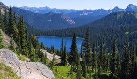 Dewy Lake in Mt Rainier NP Royalty Free Stock Image