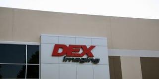 Dex Imaging Company Logo images stock