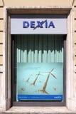 Dexia company Stock Image