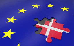 Dexit and EU Royalty Free Stock Image