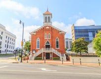 Dexter Avenue King Memorial Baptist kyrka royaltyfria bilder